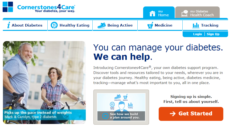 Cornerstones4Care Relaunches With New, Customized Diabetes Patient Support Program